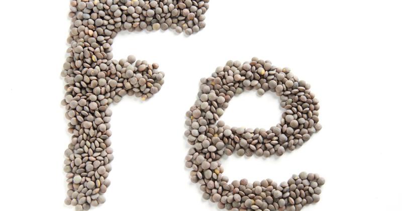 jern plantebaserte kilder vegetar vegansk