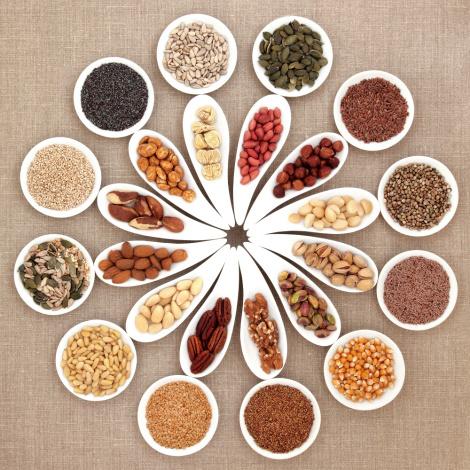 nøtter frø vegansk næringsstoffer