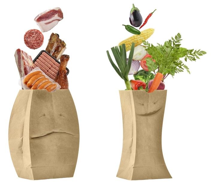 Kost med mye animalske produkter og få komplekse karbohydrater fører til ugunstig tarmflora