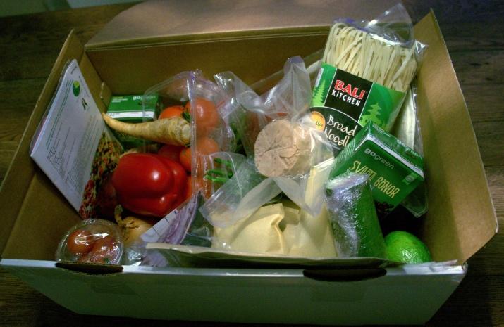 den grønne kassa vegan